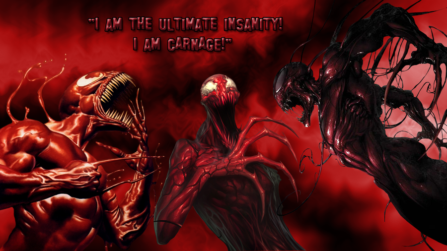 Carnage Wallpaper By CakeSlayer