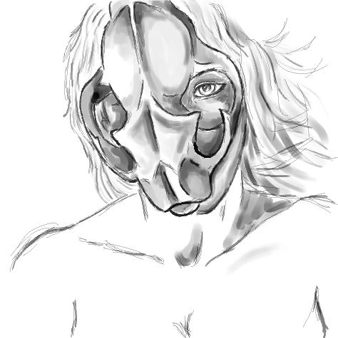 War Mask by KonKataCreations