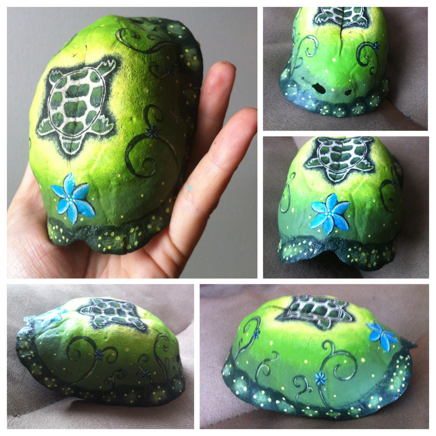 Earth Element Turtle Shell by KonKataCreations