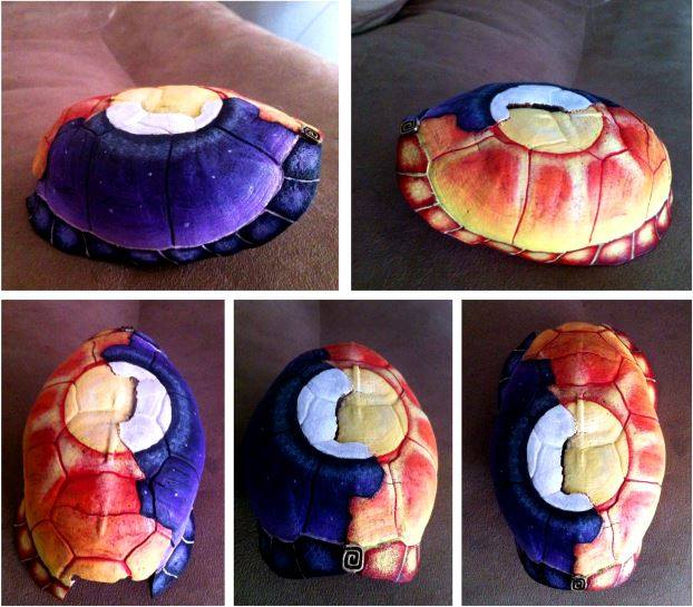Celestial Turtle Shell by KonKataCreations