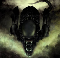 ALIEN front by RoguePL