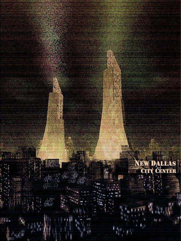 Aliens universum - New Dallas by RoguePL