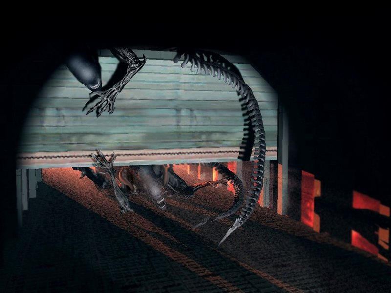 Aliens and Predators, Corridor by ~RoguePL on deviantART