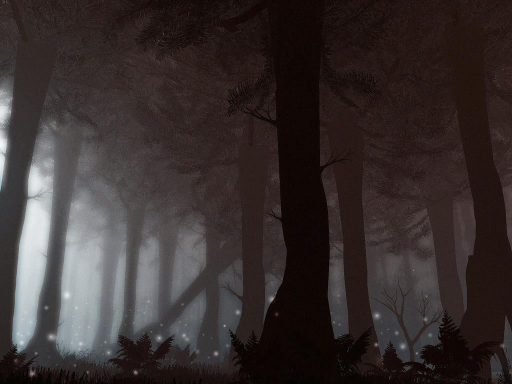 Magic forest by RoguePL