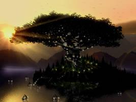 Sylvan Tree by RoguePL