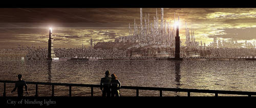 City of blinding lights by RoguePL