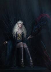 Daenerys by atroposdios