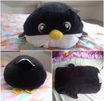 pinguin pillow