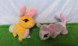 Easter Bunny and Easter Rat