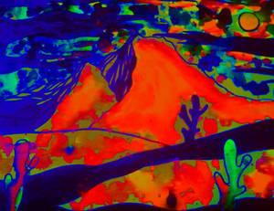 Bleeding Colors of the Desert
