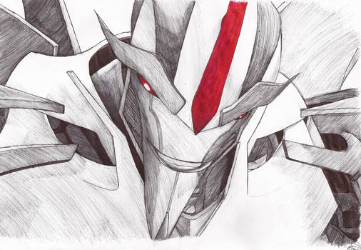 Transformers Prime: Starscream [A3 Sketch]