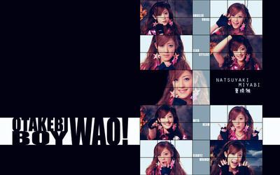 Miyabi Wallpaper 3 - Otakebi by Mordhel44