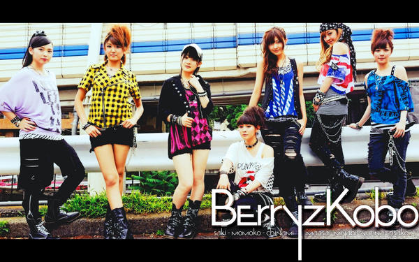 Berryz Group Wallpaper 2 by Mordhel44