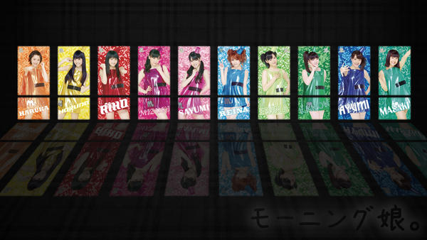 Morning Musume Wallpaper 1 by Mordhel44