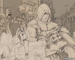 Assassin's Creed - Revelations by sinDRAWS