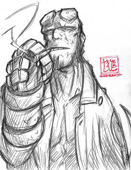 Patreon Request - Hellboy