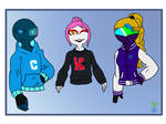 Back To School Swag by XHourxGlass