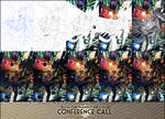 The Making of : Conference Call (step by step)