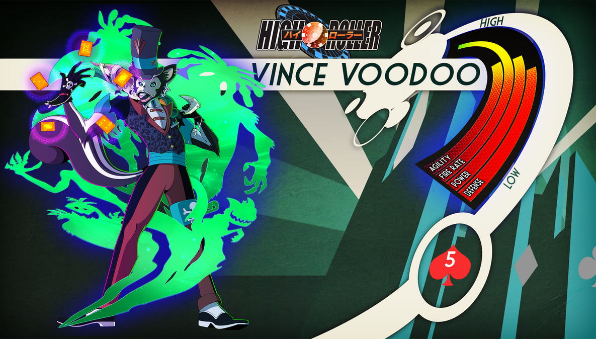 High Roller: Vince Voodoo stats and bio by DanSyron