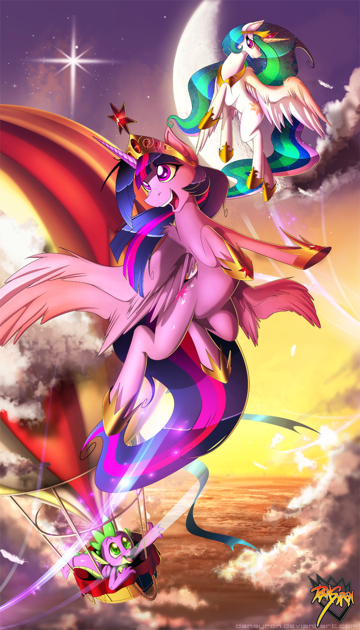 Flight of the Alicorn by DanSyron