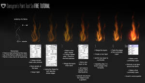 Fire Tutorial for Paint Tool Sai