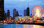 Chicago Skyline _Navy Pier