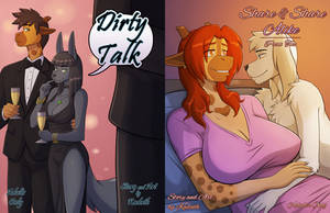 Dirty Talk / Share and Share Alike Print Editions! by KadathArt