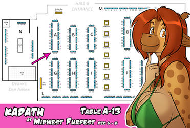 Where You Can Find Me at MFF!