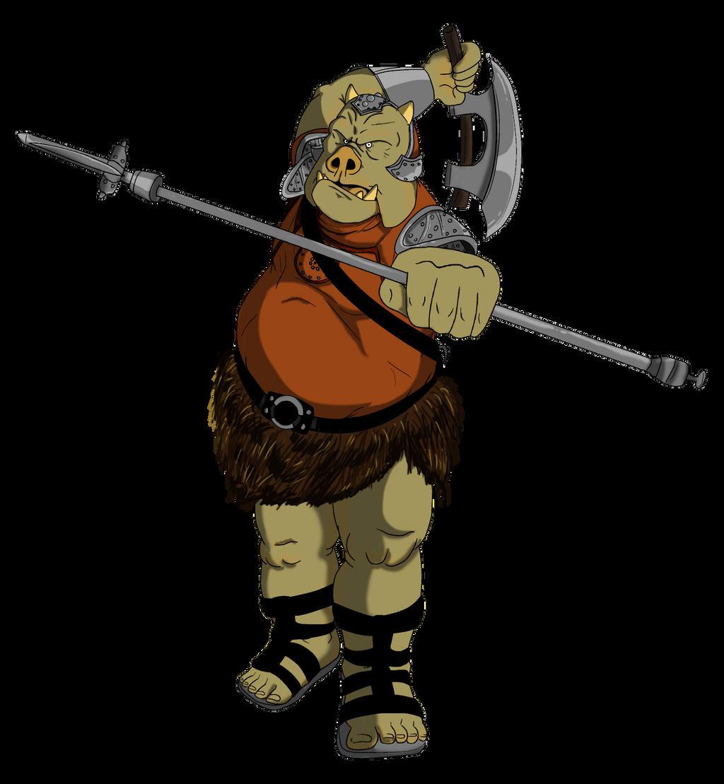 Gamorrean guard by orangephoenix6 on deviantart - Star wars gamorrean guard ...