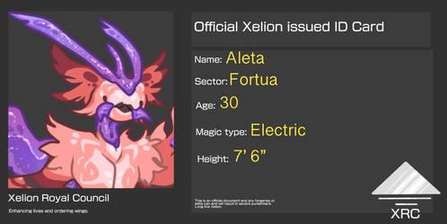 Aleta's ID