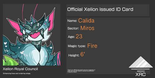 Calida's ID