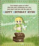Ancient birthday cake