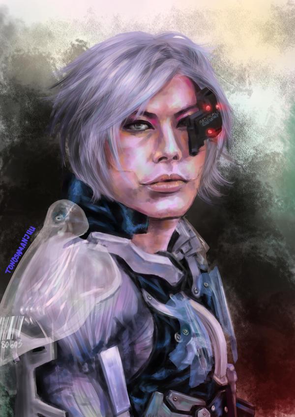 Kelton as White Raiden by Annachuu