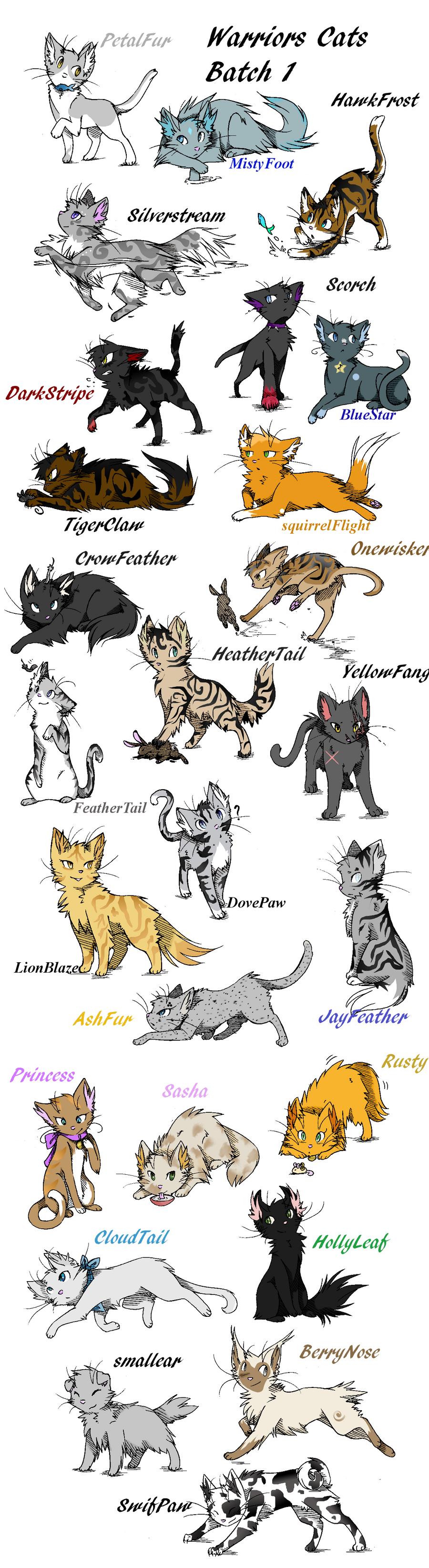 Warrior Cats Alle B Ef Bf Bdnde