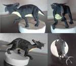 Nasutoceratops sculpture