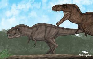 Tyrannosaurus by Vitor-Silva