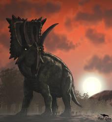 Coahuilaceratops by Vitor-Silva
