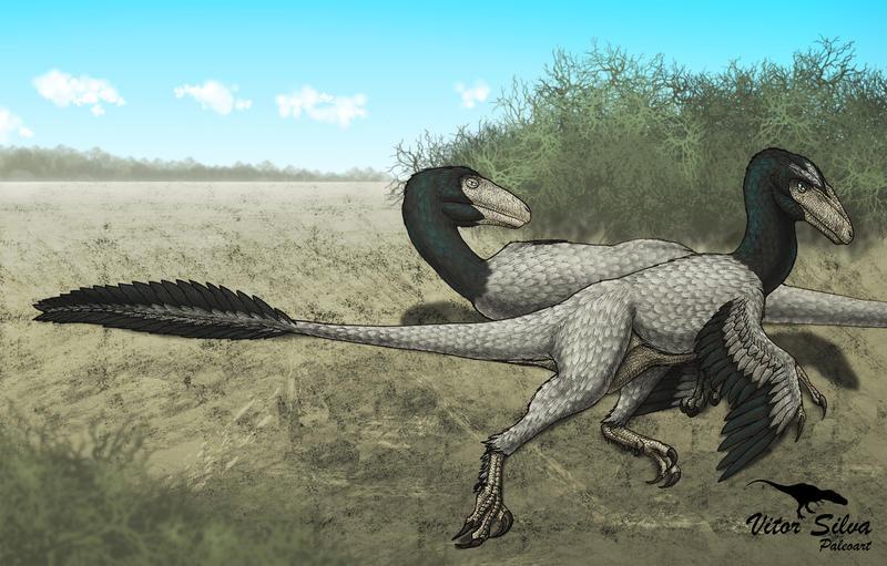 Dromaeosaurus by Vitor-Silva