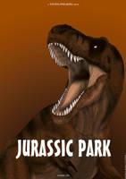 Jurassic Park poster by Vitor-Silva
