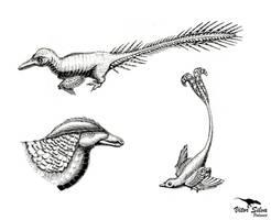 All Yesterdays: The LITC Contest: Deinonychosaurs by Vitor-Silva