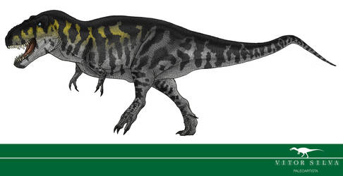 30 Day Dinosaur Drawing Challenge: 4 by Vitor-Silva