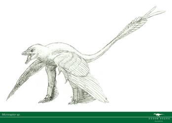 30 Day Dinosaur Drawing Challenge: 5 by Vitor-Silva