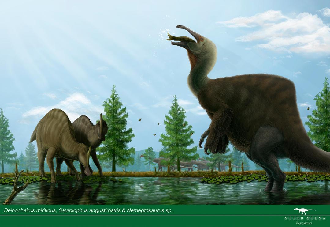 Weird Dinosaurs  Deinocheirus_by_vitor_silva-d86cwhj
