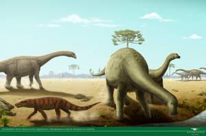 Cretaceous of Bauru by Vitor-Silva