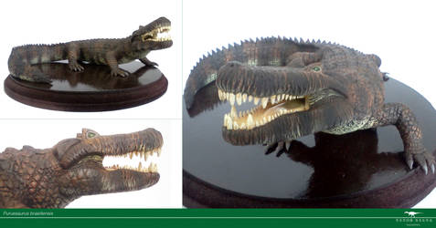Paleo Brasil - Purussaurus by Vitor-Silva