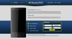 SMS Service Web Design