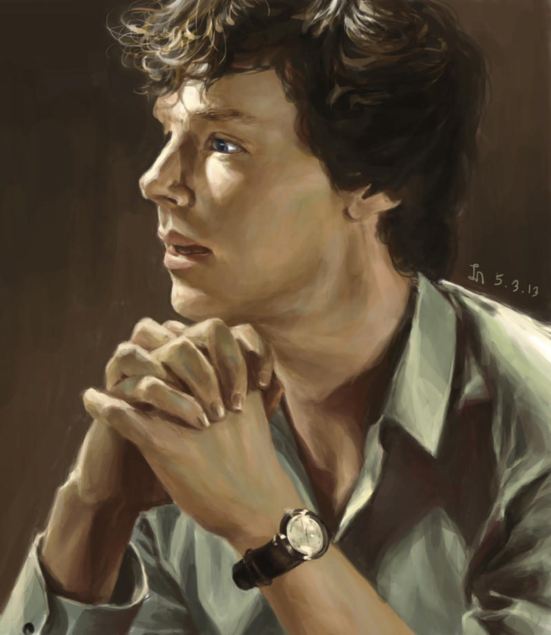 Benedict (sherlock) by INA3
