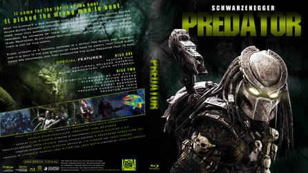 Predator Custom dvd/Blu ray cover by JamshedTreasurywala