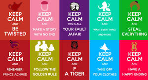 Keep Calm Twisted Collection by LuckyDragonfly