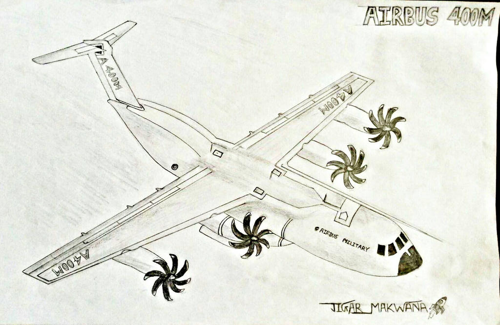 Airbus A400M by jactarious